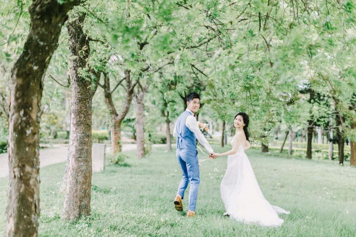 美式婚紗 : 優雅與恬靜 / I + H ENGAGEMENT / 美式婚紗婚禮 -台中婚紗攝影